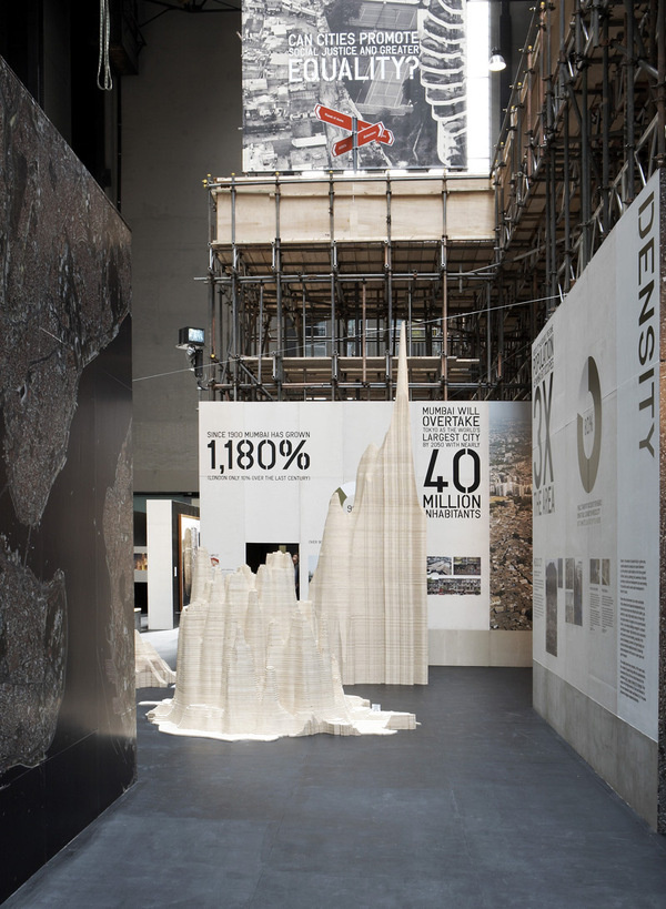 Wooden Population Density Mounds #exhibition #generative