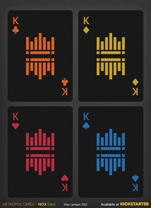 Typographie hellboundwitch: Metropol NOX Playing... #cards