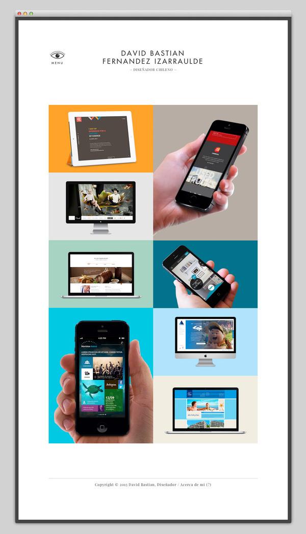 David Bastian #website #layout #design #web