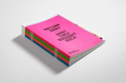 News/Recent - Fabio Ongarato Design | Gertrude Contemporary Identity #print #design #contemporary