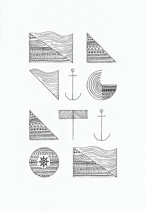 Made by Koning - N A V I G A T I O N #tipografia #pattern #anchor #navigation #typography