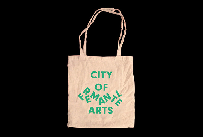 City Of Fremantle Arts by Corey James #branding #bag