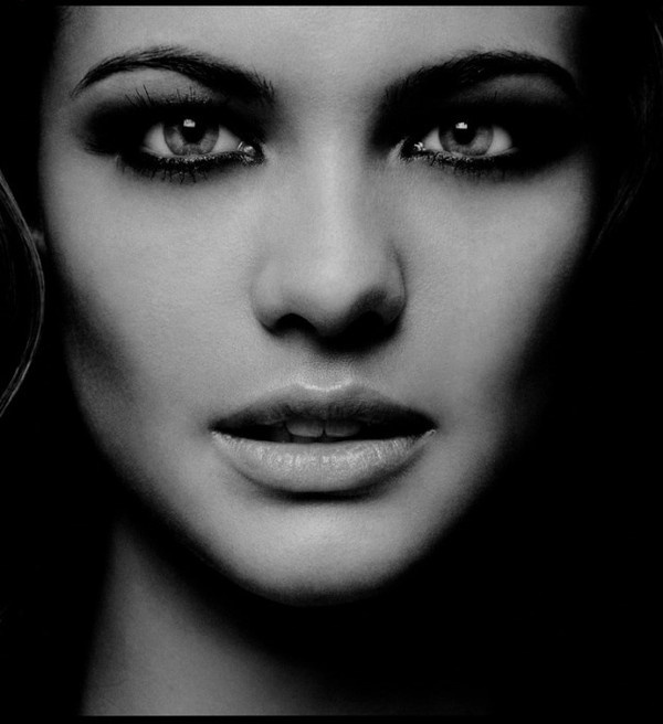 Black and White Beauty Photography by Carsten Witte #inspiration #photography #beauty