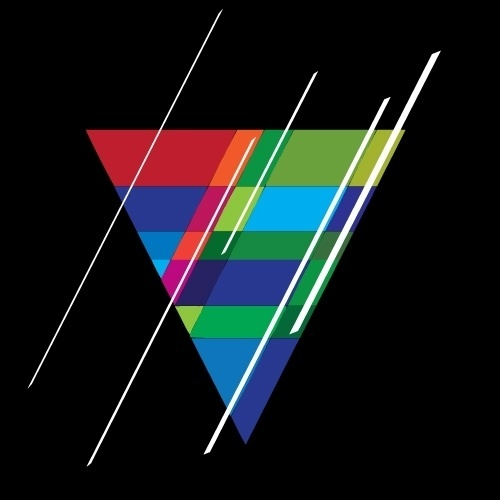 Spaceman Design #geometry #color #retro #concept #logo