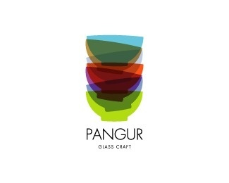 Pangur Glass Craft #logo