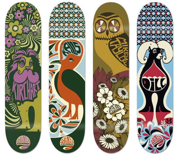 Alien Workshop Skateboards on Behance #alien #workshop