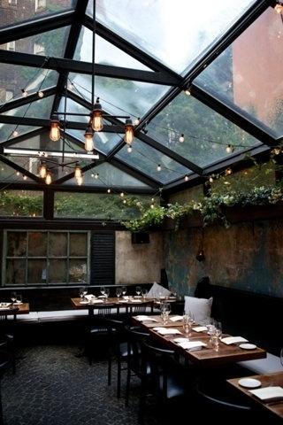 FFFFOUND! | scotch & jazz @ dusk #lighting #design #food #commercial