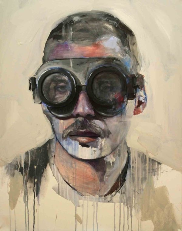COME AND SEE on the Behance Network #goggles #portrait