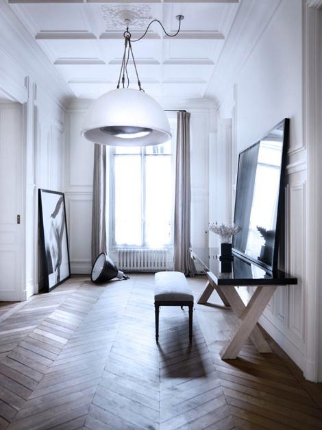 A House in Paris #interior