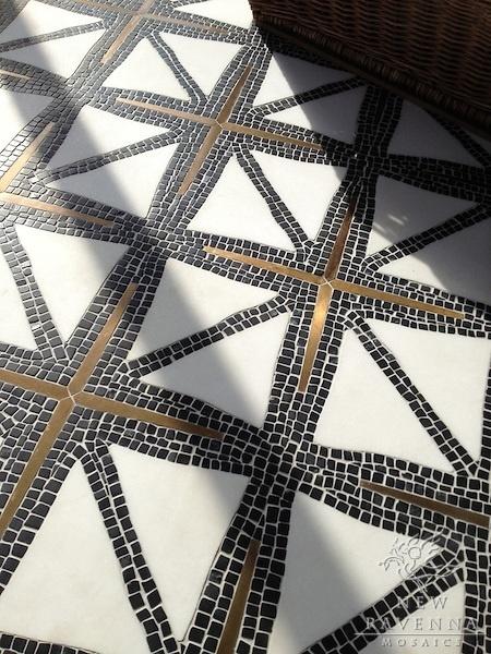 blueberrymodern:New Ravenna Mosaics – indus stone mosaic #fliesen