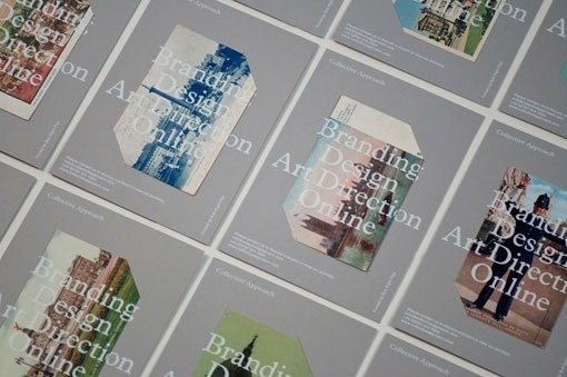 design work life » Collective Approach #print #promotional #postcard