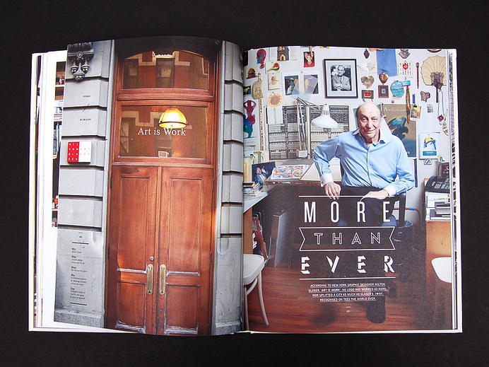 T-world: The Journal of T-Shirt Culture   MagSpreads   Magazine Layout Inspiration and Editorial Design #mag