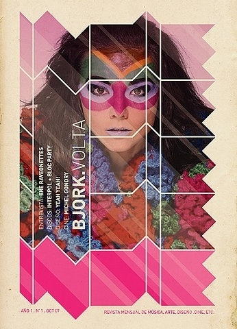 FFFFOUND! | tapa revista on Flickr - Photo Sharing! #design #tapa #photography #poster #bjork #revista