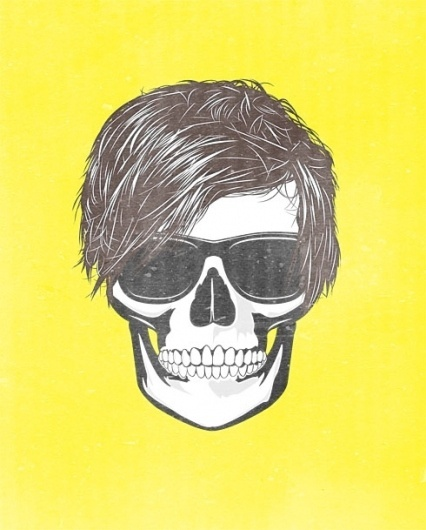 Various Illustration / kevin-mccauley.com #sunglasses #illustration #portrait #skull #shameless #drawing