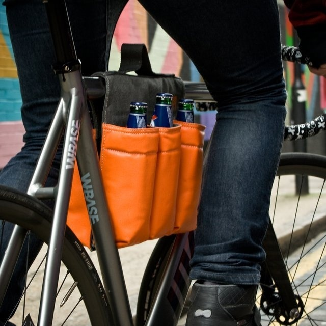 6 Pack Bike Bag #tech #flow #gadget #gift #ideas #cool