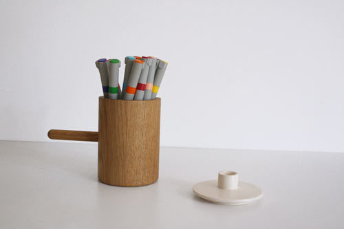 Another Ceramic Candlestick by Marie Dessuant for Another Country Photo #industrial #design