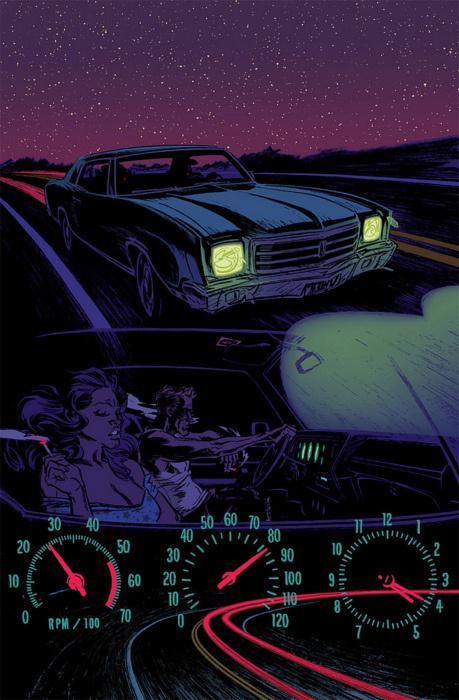 Jackie B #comic #drive