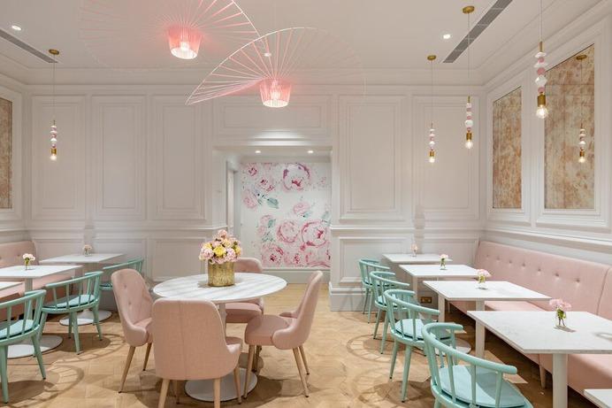 Kinnersley Kent Design Creates Captivating Flagship Parlour Concept for Cake Brand Peggy Porschen