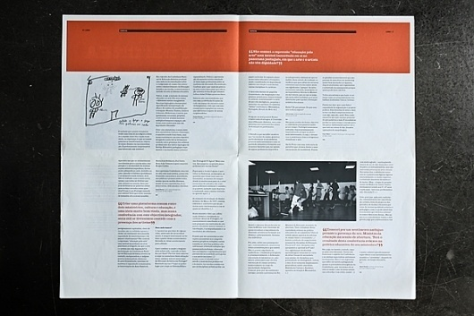 Lura on the Behance Network #design #newspaper #magazine #lura