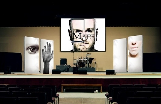 (2) Jack O'Callaghan Justjackdesign #stage #church #design #together #black #preaching #acting #layout