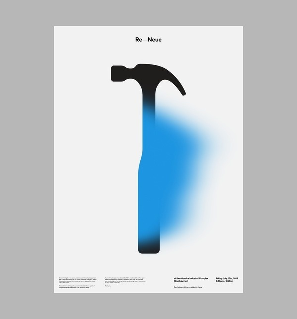 AIC: Re Neue Art & Design by D. Kim #hammer #poster