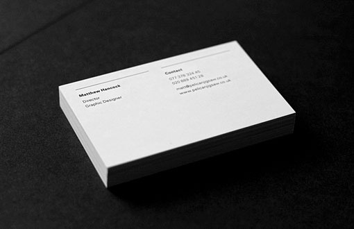 design work life » cataloging inspiration daily #white #business #modern #card #black #clean #simple