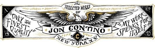Jon Contino, Alphastructaesthetitologist #lettering #contino #jon #cxxvi #black #illustration #eagle #barnaby #york #hand #new