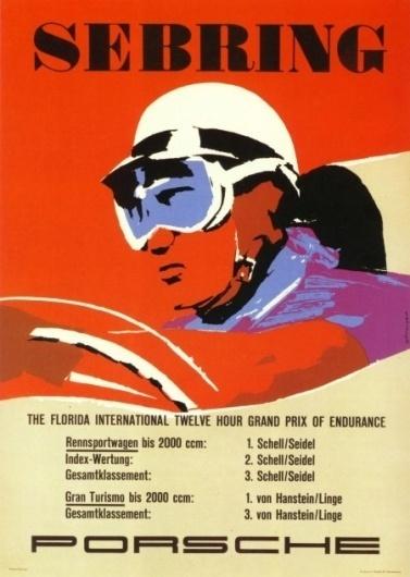 Porsche Racing Poster Collection » ISO50 Blog – The Blog of Scott Hansen (Tycho / ISO50) #posters #porsche #vintage