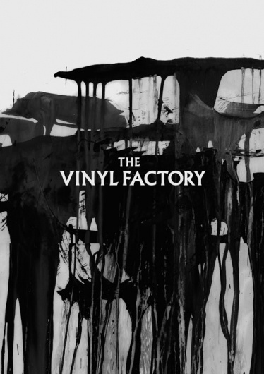 The Vinyl Factory : Village Green #white #black #texture #poster #and