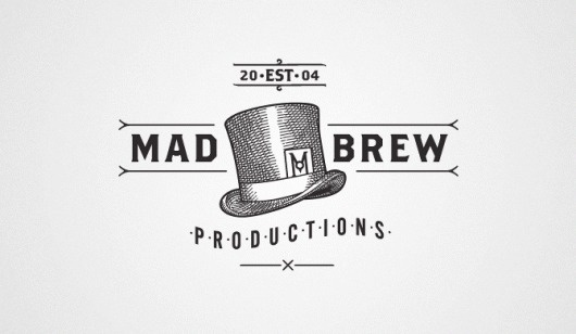 Velcro Suit - The Graphic Design and Illustration of Adam Hill #branding #hill #brew #adam #logo #mad #typography