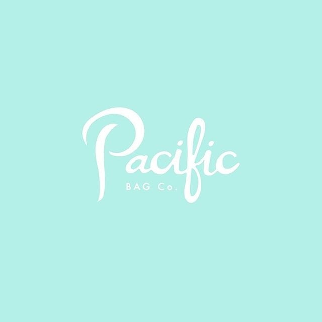 Pacific Bag Co. logo | hand lettering | via Instagram @lettersbycarose