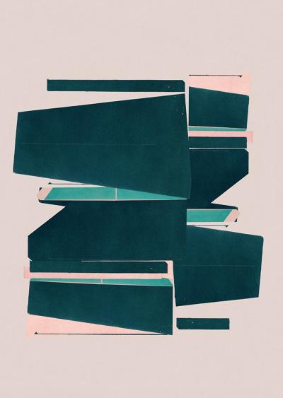 Jesús Perea / 2015 Abstract composition 557 Giclee print - 60 x 84 cm Limited edition (20) WWW.JESUSPEREA.COM