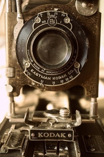 Typography / #camera #vintage