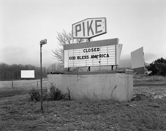 A Photo Essay On America's Forgotten Drive-In Theaters | Co.Design: business + innovation + design #signage #america #drive #in