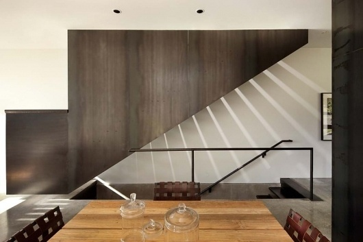 Olson Kundig Architects - Projects - Hammer House #interior #corten #modern #tom #architecture #stair #light #kundig
