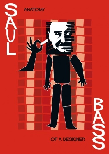 Saul Bass Poster on the Behance Network #bass #print #poster #saul