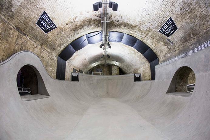 house of vans skatepark opens beneath london's waterloo station #skate or die