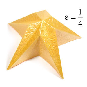 How to make a five-pointed easy embossed origami star (http://www.origami-make.org/howto-origami-star.php)