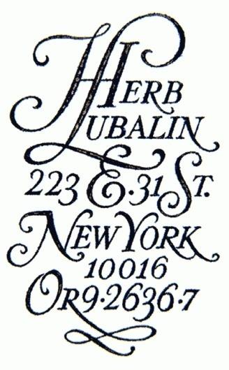 5 | Herb Lubalin: la saga ITC et U&lc – design et typo #herb #lubalin #typography #design #york #new