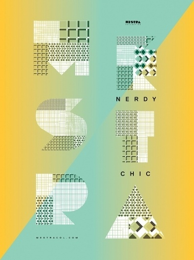 Mestra Collection - Kimberly Gim #posters #typography