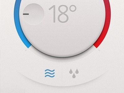 Thermostat App #interface