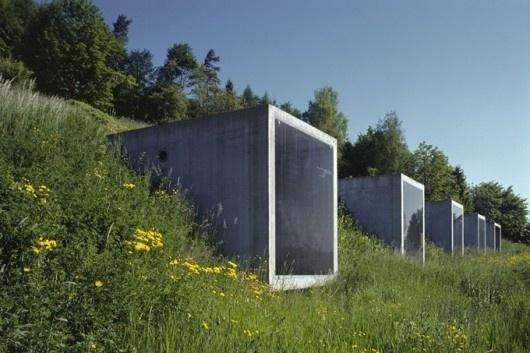 WANKEN - The Blog of Shelby White » Swiss Parking Garage #swiss #architecture #garage #parking