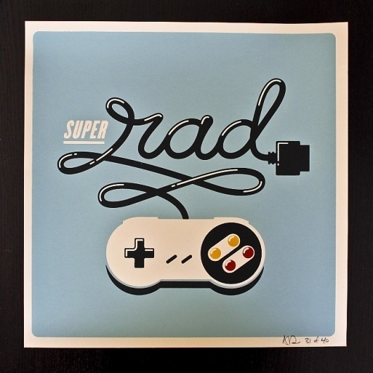 Allan Peters #rad #gaming #poster