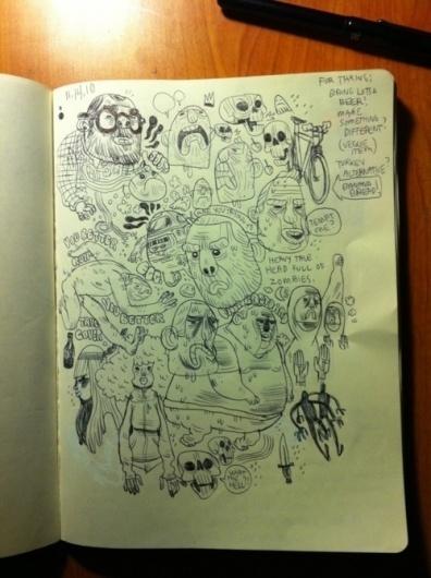 Drawn - Fun illustrations and sketchbook drawings... #illustration #drawing