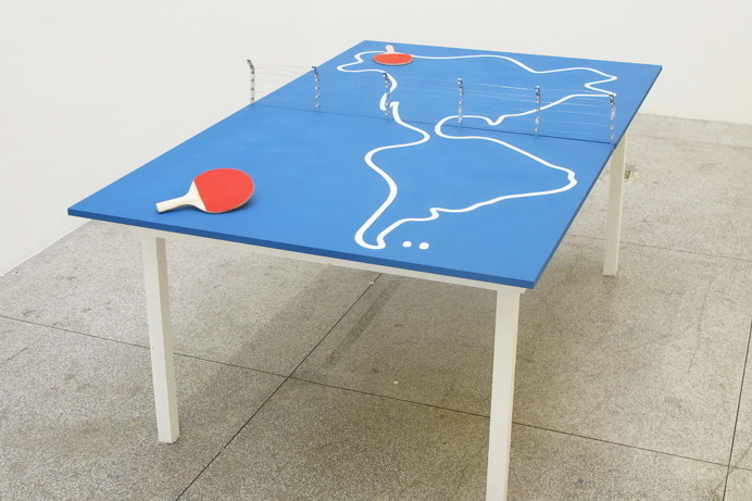 Doma Collective #pinpong #table #imigration