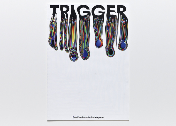 maybeitsgreat:Trigger, 2013 by Nick Schmidt from Germany #melted #color #colorful #type #rainbow