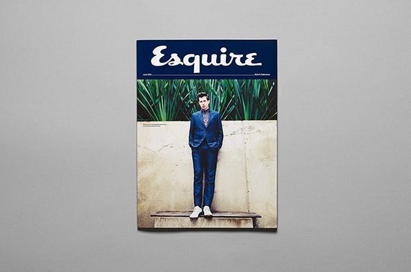 esquire, redesign #cover #masthead #editorial #magazine