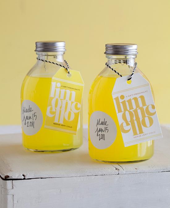 Limoncello lovely handmade packaging #packaging #handmade #bottle