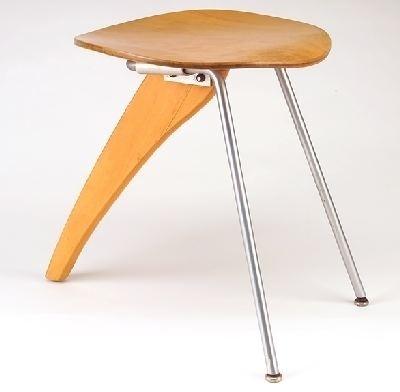 Le design japonais | Orgone Design #1954 #stool #rudder #isamu #50s #noguchi
