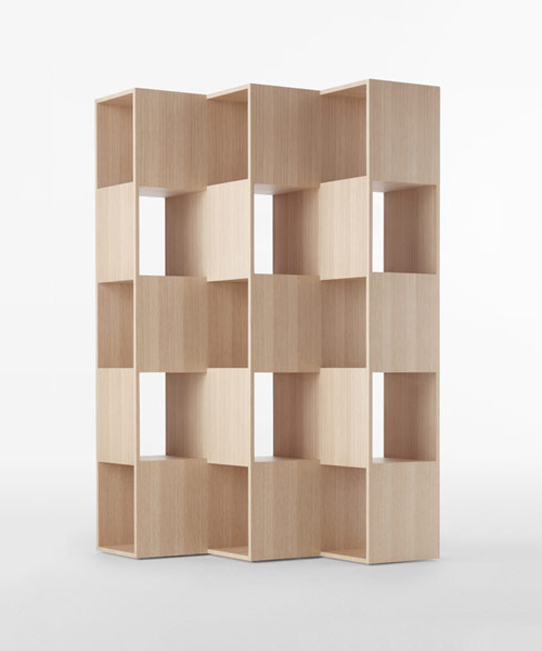 Fold by Nendo #bookshelf #furniture #minimal